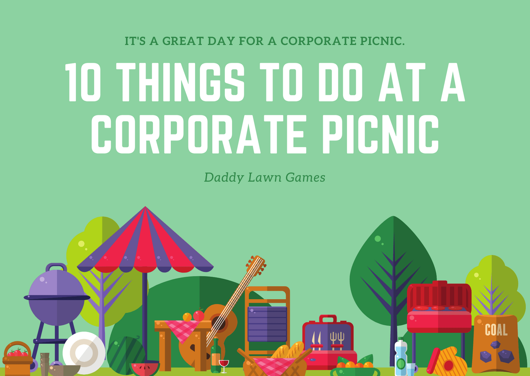 10 Things to Do at a Corporate Picnic