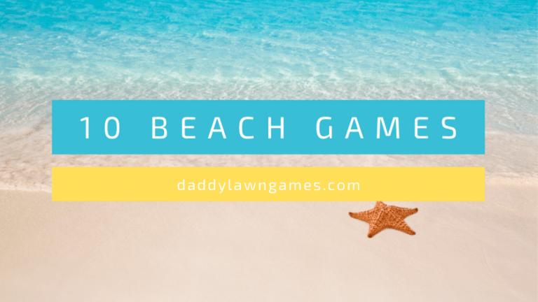 best beach games