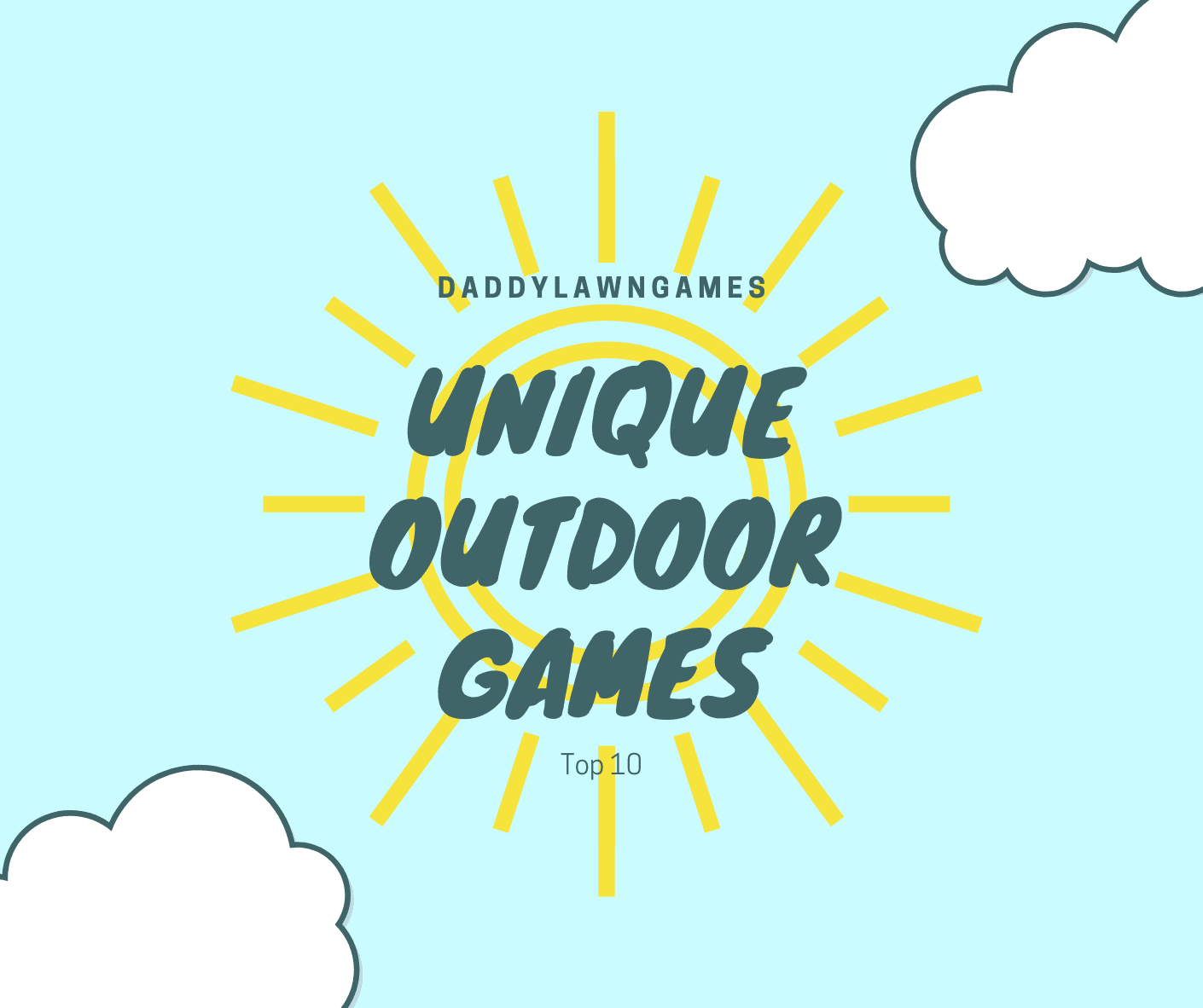 Unique Outdoor Games to Play with Your Kids