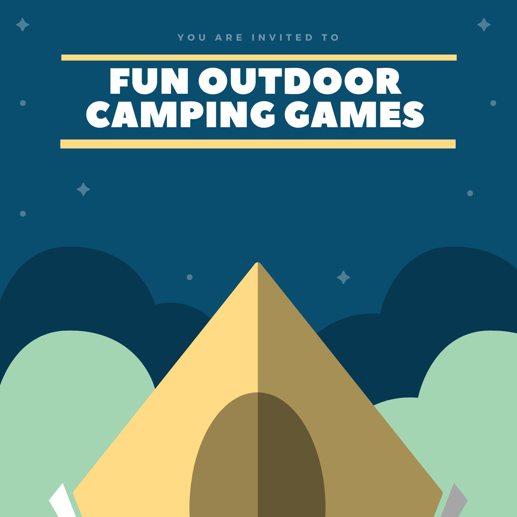 un Outdoor Camping Games