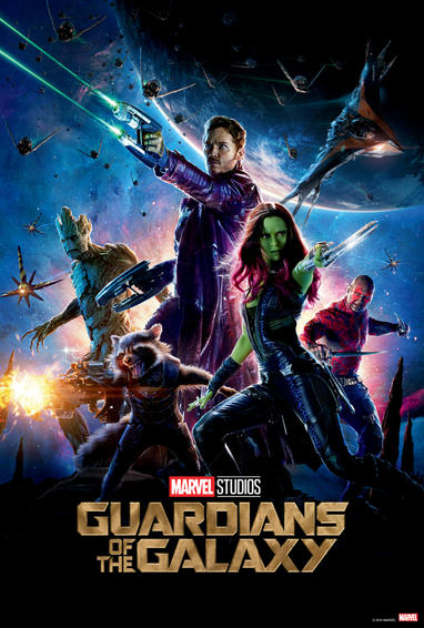 MCU guardians of the galaxy 1 timeline
