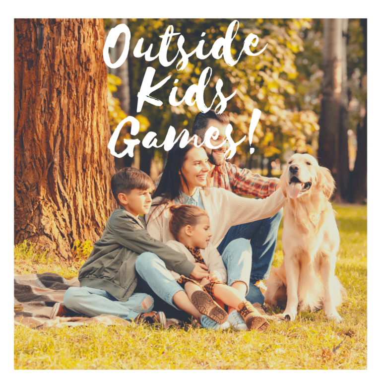 outside kids games