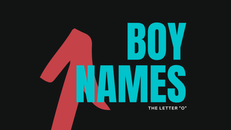 Unique Boy Names That Start With 'O'