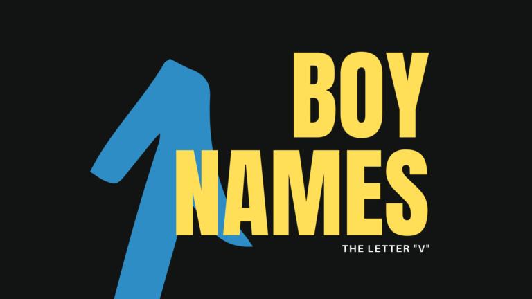boy names that start with V