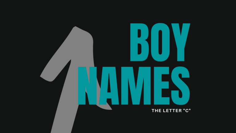 boy names that start with C