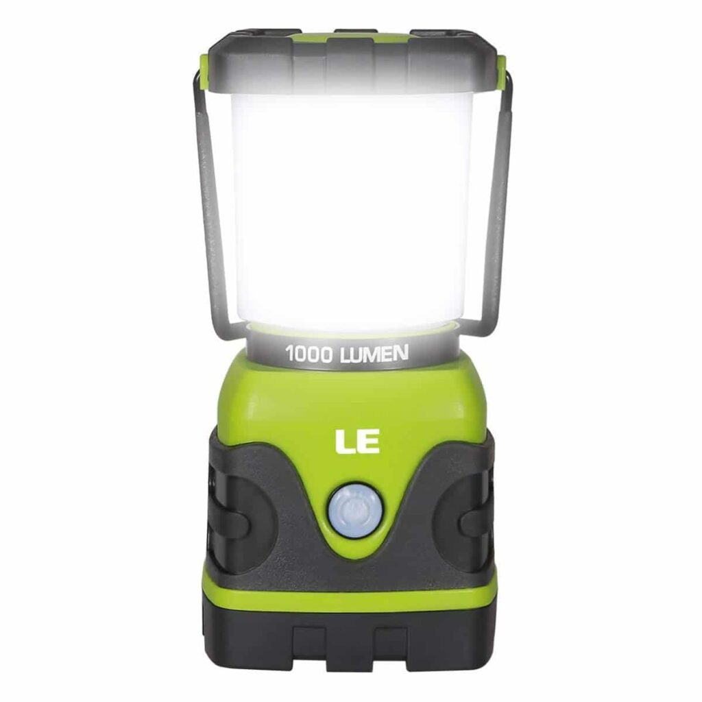 Top LED camping light