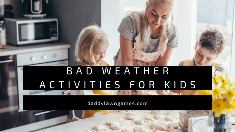 Bad Weather Activities for kids