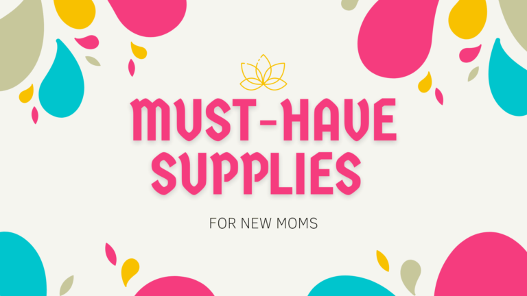 Top 11 MUST-HAVE Supplies for Your New Baby